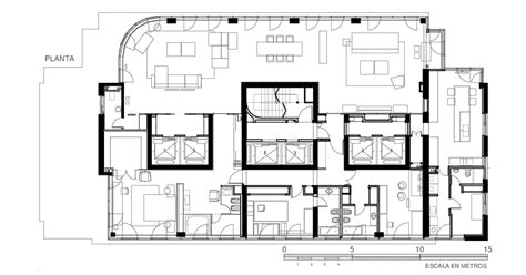modern apartment floor plans modern apartment in buenos aires argentina by vestudio