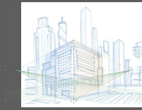 tutorial illustrator perspective tool make an establishing shot using the perspective grid tool
