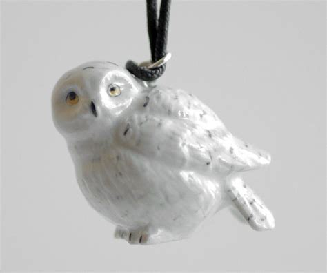 snowy owl christmas ornament by monsterbrandcrafts on