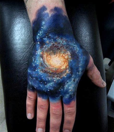 universe tattoo hand top 50 best hand tattoos for men fist designs and ideas