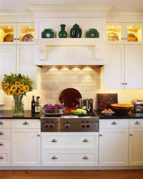 Kitchen Cabinet Display Ideas by Range And Display Cabinets Kitchens