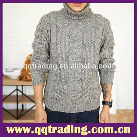 2015 wholesale wool handmade design sweater for