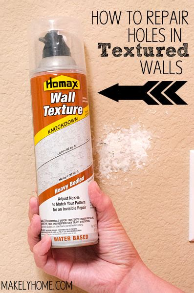 how do you fix a hole in a leather couch how to repair textured drywall