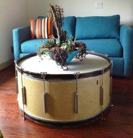 1000 Images About Music Inspired On Pinterest Music Bass Drum Coffee Table