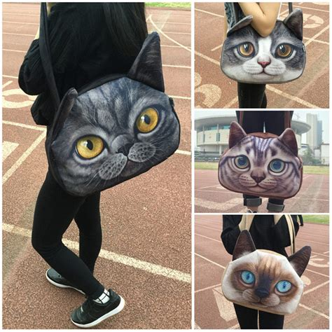 Fashion Gold Cat Lovely Bag big size sling bags bags more