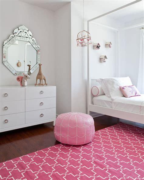 girls bedroom rugs pink trellis rug contemporary girl s room sissy and