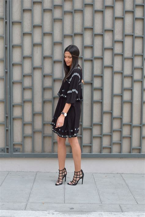 Ethnic Dress Black W7527oo I ethnic black dress june sixty five mode