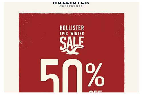 hollister coupons promo codes 2018