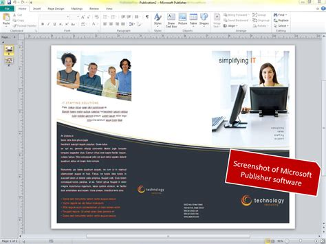 free brochure templates publisher free microsoft publisher brochure pdf