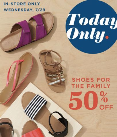 old navy coupons shoes old navy 50 off shoes for the whole family in stores