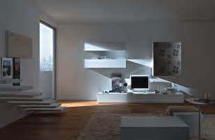 contemporary livingroom modern wall units from momentoitalia