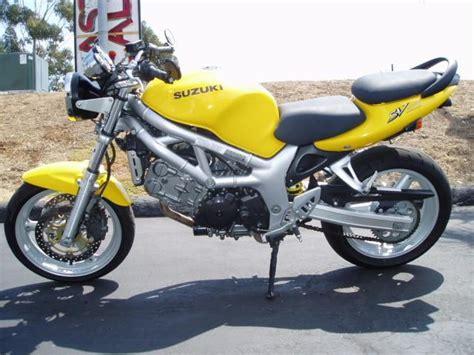Suzuki Sv650s 2002 2002 Suzuki Sv650 Sportbike For Sale On 2040 Motos