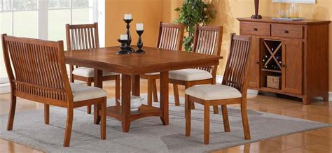 Mission Dining Room Furniture Mission Style Dining Room Set Walkin Samongus