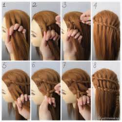 braids updo for hairstep by step dutch three strand ladder braids check out the step as