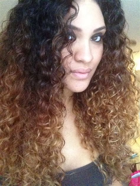 curly hairstyles ombre curly ombre hair ideas pinterest