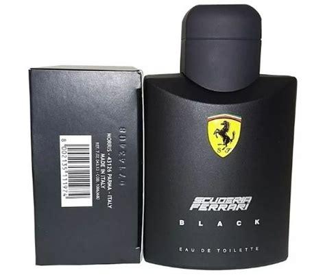 Scuderia Black 100ml perfume animale 100ml e black scuderia 125ml r 249 90 em mercado livre
