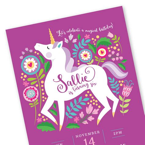 free printable unicorn invitation unicorn invitation printable customized diy invitation