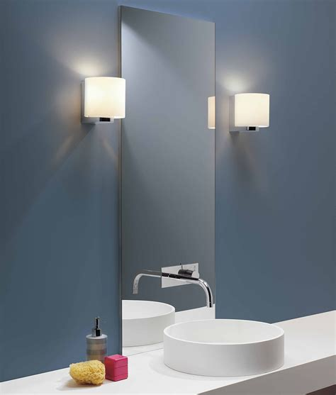 bathroom safe chandeliers wrap around opal glass shaded wall light class 2 ip44