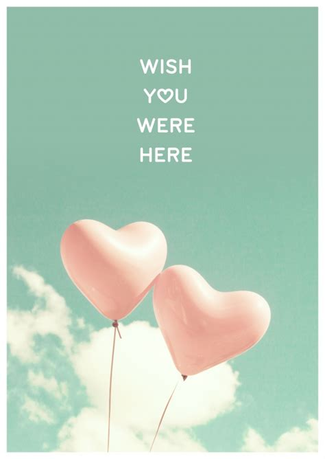 wish you were here love cards send real postcards online
