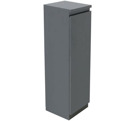 Hygena Bathroom Furniture Buy Hygena Gloss Floor Cabinet Grey At Argos Co Uk Your Shop For Bathroom Cabinets