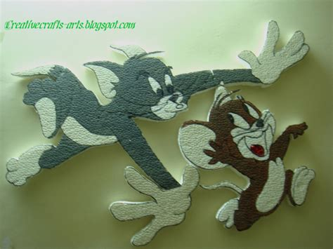 Tom And Jerry Papercraft - tom and jerry arts and crafts