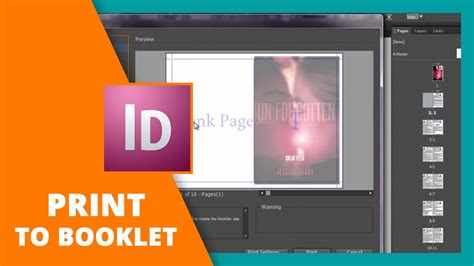 how to print to booklet in indesign book design doovi how to print to booklet in indesign book design doovi