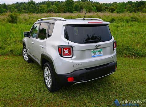 Jeep Renegade Limited 2016 Jeep Renegade Limited 4 215 4 Review Test Drive