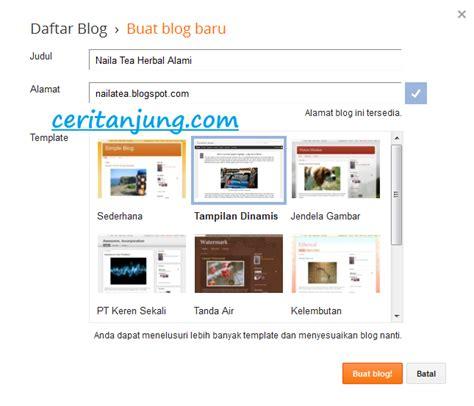 membuat website yang mudah dan gratis cara mudah membuat blog dan website gratis