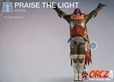 In Praise Of Lit At Last by Destiny Praise The Light Orcz The Wiki