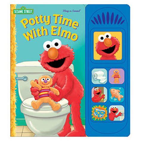 Sound Book by Elmo Potty Book Potty Time With Elmo Sound Book