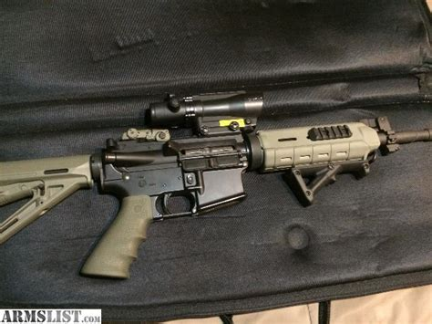 ar 15 fully automatic 22 caliber conversion armslist for sale cmmg mod4 223 556 ar with 22