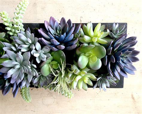 Faux Succulent Centerpiece Succulent Plants Faux Succulents Succulent Plant Centerpiece