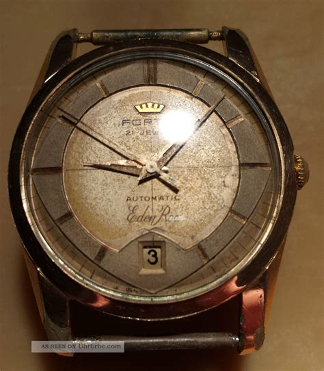 Fortis Automatic 21 Jewels fortis roc vintage swiss made herrenarmbanduhr 21 jewels