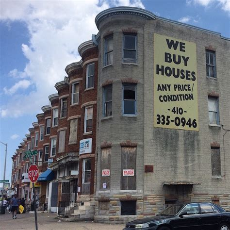 buy house in baltimore baltimore road trip a trip down homesteader alley history sidebar