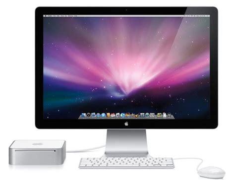 Mac Apple new apple mac mini with nvidia geforce 9400m slashgear