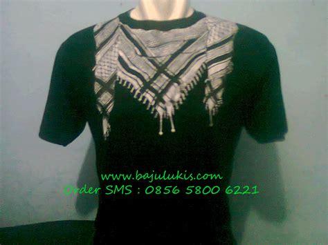 Kaos Lukis baju lukis k5001 kaos lukis hitam sorban