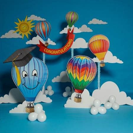 themes for kindergarten graduation day beyond the clouds graduation complete theme anderson s