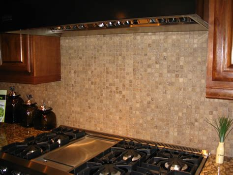 Kitchen With Mosaic Backsplash by Kitchen Backsplashes Kris Allen Daily