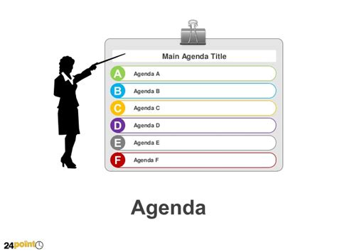 Presentation Agenda Template Agenda Powerpoint Template