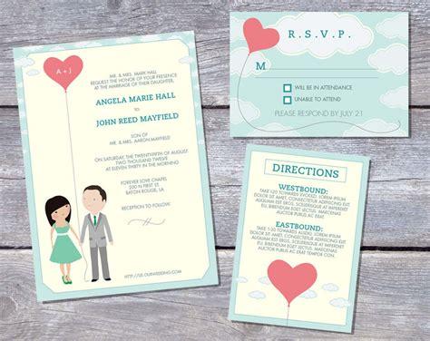 Wedding Invitation Print On Right by Wedding Invitations Free Wedding Invitation Templates To