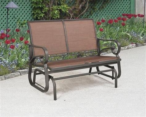menards outdoor patio furniture delmar glider at menards dirt