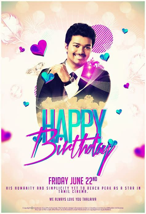 happy birthday vijay mp3 download happy birthday ilayathalapathy vijay