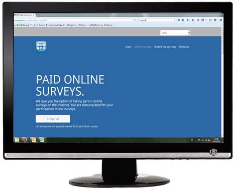 Paid Online Surveys - mobrog 174 paid surveys online polls and mobile survey app
