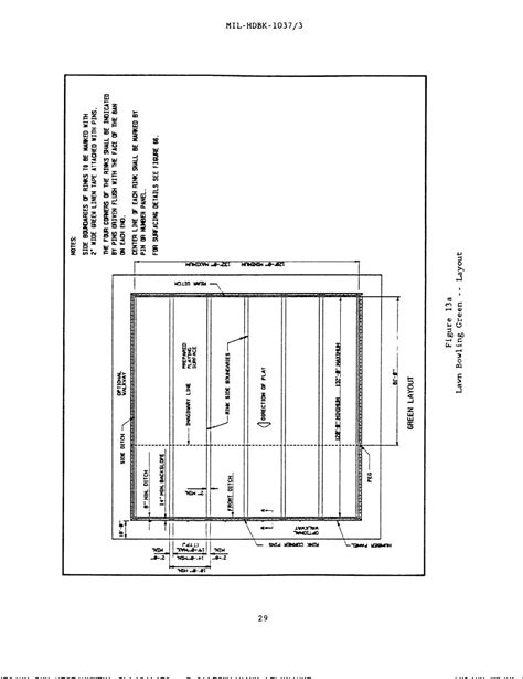Home Design Layout Pdf Figure 13a Lawn Bowling Green Layout