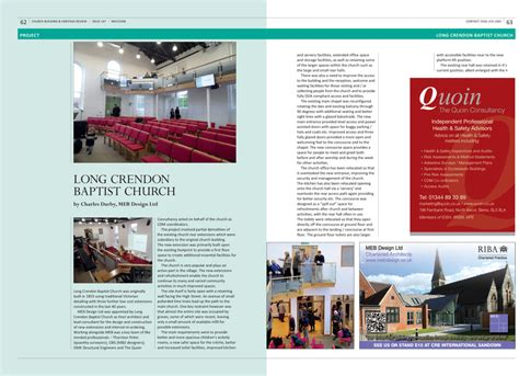 building design magazine uk church building magazine and heritage review magazine