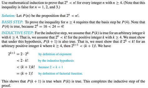 tutorial questions on mathematical induction discrete mathematics mathematical induction step 2 n