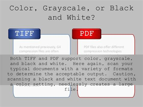 compress pdf grayscale pdf vs tiff an evaluation of document scanning file formats