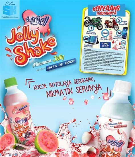 Nutrijell Jelly Shake Orange 340ml kenyang hadiahnya