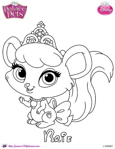 free princess palace pets coloring page of brie skgaleana