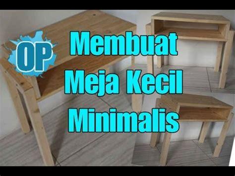 Meja Kayu Kecil tutorial cara membuat meja kecil side table dari kayu jati